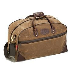 No. 655 Curtis Flight Bag Medium - waxed canvas luggage by Frost River