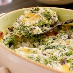 broccoli, cheese and rice casserole