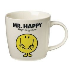 Mr. Happy Mug. Because coffee makes everyone happy.