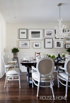 Trad Dining Room With Edge | Photo Gallery: Ingrid Oomen's Favourite Rooms | House & Home