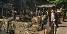 On Outlander last season, Jamie and Claire discovered they were to become parents. At Comic-Con today, the actors talked about how that is working out on set. If you are not an Outlander book reade...