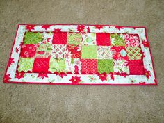 Craftin' Cami: Christmas Table Runner