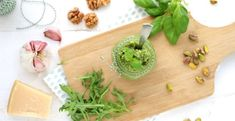 Rucola pistache pesto - Mind Your Feed