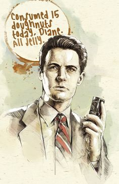 I may be a little excited about season 3 of Twin Peaks. All Jelly David Lynch Twin Peaks, Between Two Worlds, The Masterpiece, Weird Art, Buy Prints, Illustrations And Posters, The Magicians, Movies And Tv Shows, The Dreamers