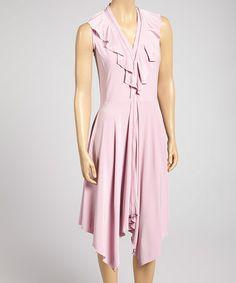 Love this Foxglove Ruffle Handkerchief Dress by Samuel Dong on #zulily! #zulilyfinds http://ricochetranch.dressingyourtruth.com