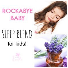 Tired mamas ask me often for a safe and gentle sleep remedy that might calm their little night owls at home. This is a favorite blend for night owls large and