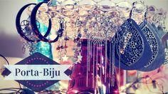 Lari Koze: DIY - Porta bijuteria, para decoração. Porta biju super fácil
