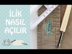 Singer 1408 Promise İlik Nasıl Açılır? Esma'nın Dikiş Atölyesi - YouTube Embroidery, Sewing, Knitting, Crochet, Youtube, Needlework, Chrochet, Tricot, Stitching