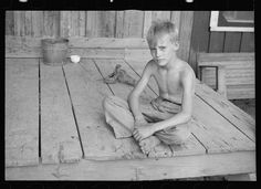 Son of a sharecropper, Wilson cotton plantation, Arkansas. 1935 Aug. Library of Congress.
