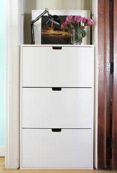 Ikea stall shoe cabinet hallway pinterest batten for Ikea stall shoe rack