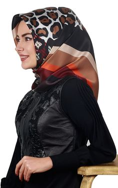 Hijab Collection, Headscarves, Turkish Fashion, Hijabs, Just Smile, Muslim, Riding Helmets, Silk, Hijab Styles