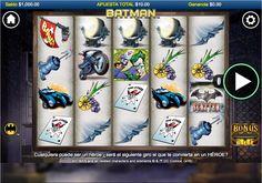 Ciudad Gótica nunca fue la misma después que el multimillonario Bruce Wayne llegó a la escena, como es bien sabido los personajes de cómic son muy populares en los tragamonedas y Batman se destaca como uno de los favoritos.