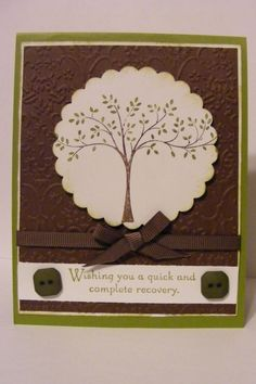 Thoughts and prayers stampin up - Google Search
