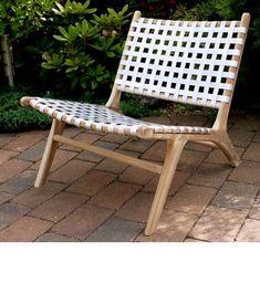 Teak Low Slung Garden Chair