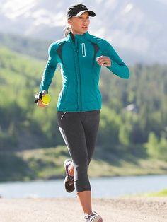 Athleta Relay Running Capri   running Tights   workout clothes http://www.FitnessApparelExpress.com