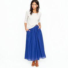 Love this skirt...super cute with a basic t-shirt!