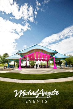 Bring your outdoor venue for life with this pavilion treatment!