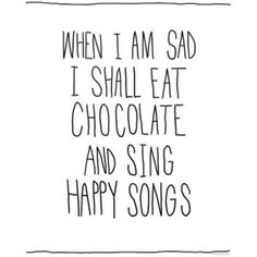 chocolate and music