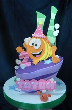 Custom & Specialty Birthday Cakes in Houston TX by How Sweet It Is Bakery Bubble Guppies Birthday Cake, Bubble Guppies Party, Birthday Cakes, 2nd Birthday, Cupcakes, Cupcake Cakes, Cake Pops, Cakes For Boys, Kid Cakes