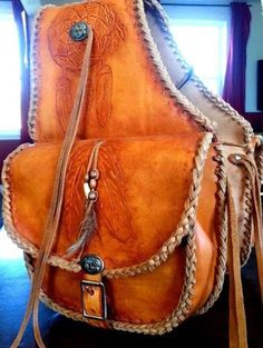 Items similar to Bag leather saddle, saddle, riding, hiking panniers, fonts fonts bag on Etsy Wade Saddles, Horse Saddles, Western Saddles, Leather Saddle Bags, Leather Art, Leather Backpack, Horse Gear, Horse Tack, Cycle Saddle Bag