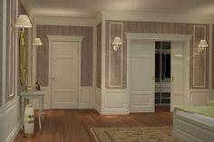 Фрагмент интерьера квартиры в Санкт-Петербурге, 2012 год.