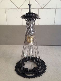 upcycled bike sprockets - Google Search