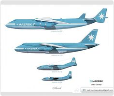 Maersk Livery concept | Flickr - Photo Sharing!