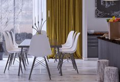 Making of Modern Apartment by Rakan Jandali Timber Planks, Timber Beams, Timber Flooring, Dining Area, Dining Chairs, 3ds Max Tutorials, Vfx Tutorial, Living In Dubai, V Ray Materials
