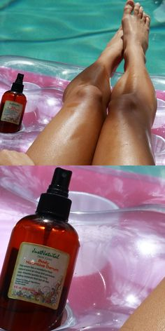 I can feel my skin getting softer and healthier after using this product. I applied it 15 minutes before I began to tan out in the sun. The difference was amazing. I love this body nutritive serum. It's a super rich oil however not sticky or too oily, it's absorbed pretty quickly. I like to use after the shower too with my skin still wet and sometimes before bed. I've been using beyond what is recommended for.