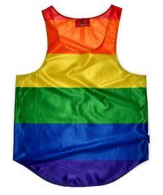 Pride International Flag Tank Top