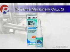 105 ) Delay Spray filling machine Saline Nasal Spray, Amber Glass Bottles, Spray Bottle, Airstone