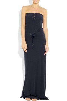 Juicy Couture | Cotton-blend terry maxi dress <3