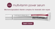 dermalogica's new multivitamin power serum Dermalogica Age Smart, Vitamin Complex, Healthy Skin, Serum, The Cure, Personal Care, Skin Care, Beauty, Products