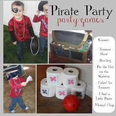just Sweet and Simple: Kids Pirate Party