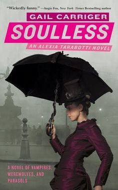 Parasol Protectorate #1  Set in Victorian England, it has a little bit of steampunk feel.  Not a typical sci-fi adventure, with lots of humor and     just the right amount of proper behaviour!
