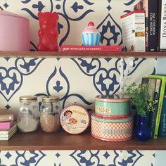 Um pouco da minha bagunça organizada da cozinha