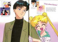 Toei Animation, Bishoujo Senshi Sailor Moon, Mamoru Chiba, Moonlight Knight, Usagi Tsukino