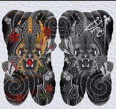 Irezumi, Dragon, Japan Style, Tattoo Art, Oriental, Tatoo, Japan Tattoo, Japanese Style, Japanese Tattoos