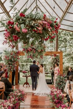 Fresh Ideas And Wedding Trends 2020 ❤ wedding ideas boho vintage ceremony with pink flowers and round altar thanos asfis with velvet rose studio Luxe Wedding, Glamorous Wedding, Wedding Trends, Floral Wedding, Wedding Colors, Wedding Flowers, Dream Wedding, Wedding Bride, Wedding Ceremony Ideas