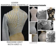 Learn Manipulated Pointelle - Knit-1