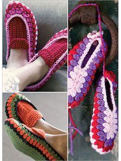 Crochet Slippers - Interweave