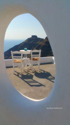 !!! Greek Decor, Santorini Greece, Greek Islands, North Africa, Great View, Sun Lounger, Tourism, Europe, Walks