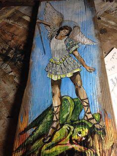 Saint Michael St Michael the Archangel Angel by Art4thesoul
