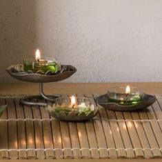 The Lotus Collection by PartyLite - lotus pieces are trending hot, hot, HOT right now! Lotus, Partylite, Candle Accessories, T Lights, Winter Springs, Decoration, Birthday Gifts, Candle Holders, Candles