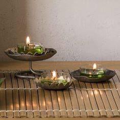 TEELICHTHALTER LOTUS, TRIO P92070 Details: Metall mit variierendem Metallic-Dekor. Aufeinander (H: 4 cm) oder einzeln dekorierbar. Kerzenformen: Teelichter. METALLMIX AUS BLÜTEN Mit unserer neuen Kollektion Lotus beweisen Sie Gespür für Trends. Skulpturale Designs in schimmerndem silber-, gold- und kupferfarbenem Metall sind in! Bambusbrise unterstreicht den zeitgemässen Look. Für nur 15,90 € statt 19,90 € Und auch im Online-Shop bestellbar oder bei mir unter…