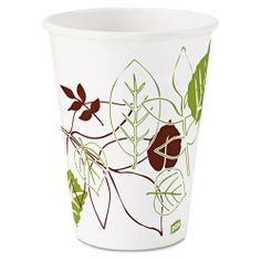 Dixie® - Pathways Paper Hot Cups, 12 oz, 25 per Pack - Sold As 1 Pack - Polylined to protect against soak-through. by Dixie Products. $5.50. Dixie® - Pathways Paper Hot Cups, 12 oz, 25 per PackThe polylined design protects against soak-through. Also have durable sidewall strength. Provide an upscale image at an economical cost making them great for specialty hot beverages. Cup Type: Hot; Capacity (Volume): 12 oz; Material(s): Paper.Capacity (Volume): 12 ozCapacity (Volume):...