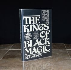 """""""The Kings of Black Magic"""" - 1981 unstated 1st edition from the personal library / collection of Steven F. Christensen - a Mormon businessman who was killed by a mail bomb in October of 1985. His murderer, Mark Hofmann, was a prolific forger dealing in historical documents with a focus on the early LDS / Mormon transcripts.  Very intriguing book with a wonderfully bizarre story!"""