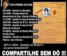 Pensamentos Soltos: Ficha da Dilma