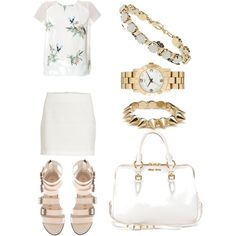 Untitled #187 by freckledfashionwithpolyvore on Polyvore featuring мода, Zara, VILA, Miu Miu, Topshop, Marc Jacobs and CC SKYE