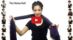 We weren't sure there really were 25 different ways you can wear a scarf, but Wendy Nguyen proved you can, and all in under 4.5 minutes.